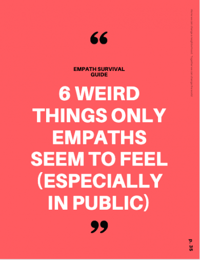 empaths for helping