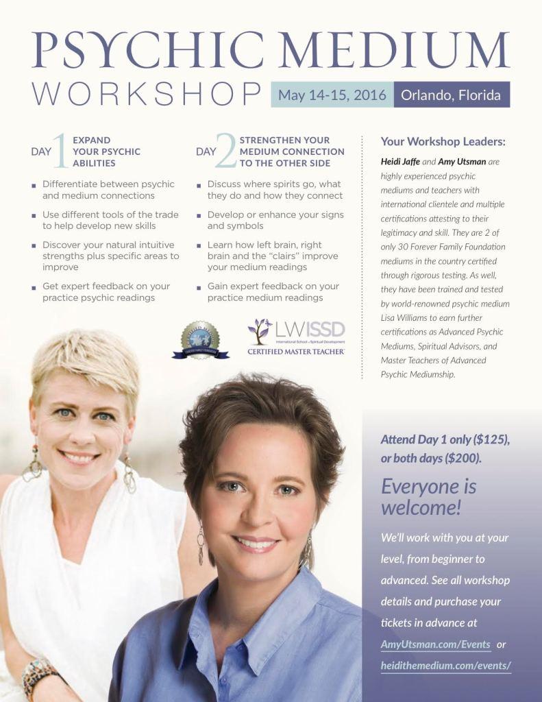 Heidi Jaffe Workshop