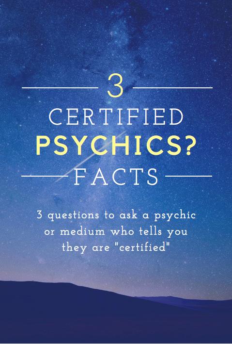 certiified psychics