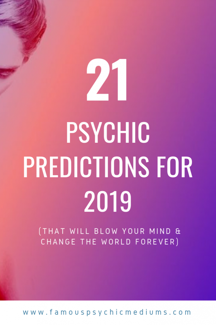 psychic predictions for 2019