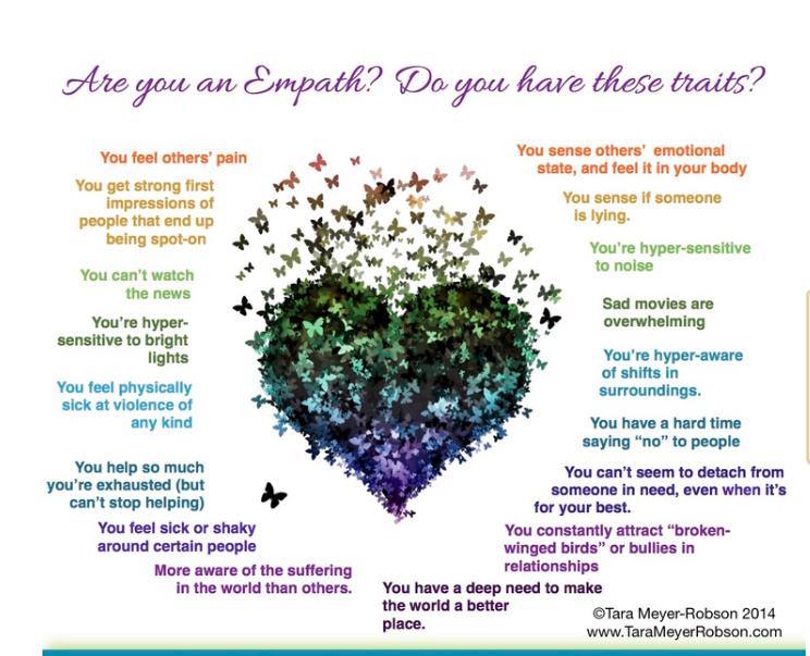empath traits list