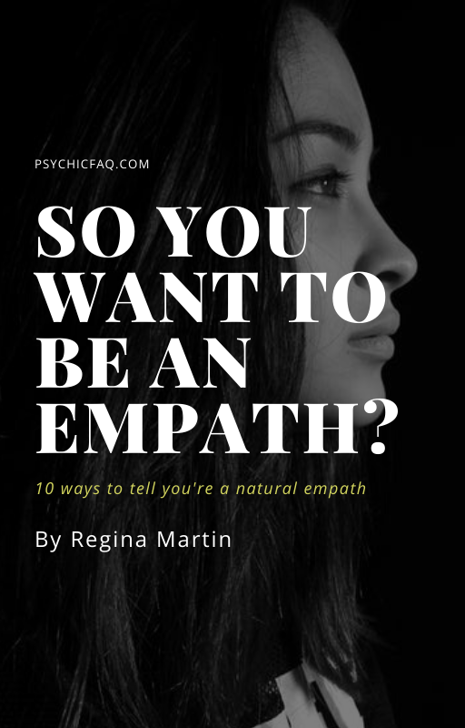 i think i'm an empath